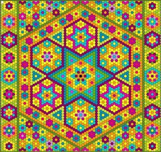 The Great Hexagon Quilt - Along
