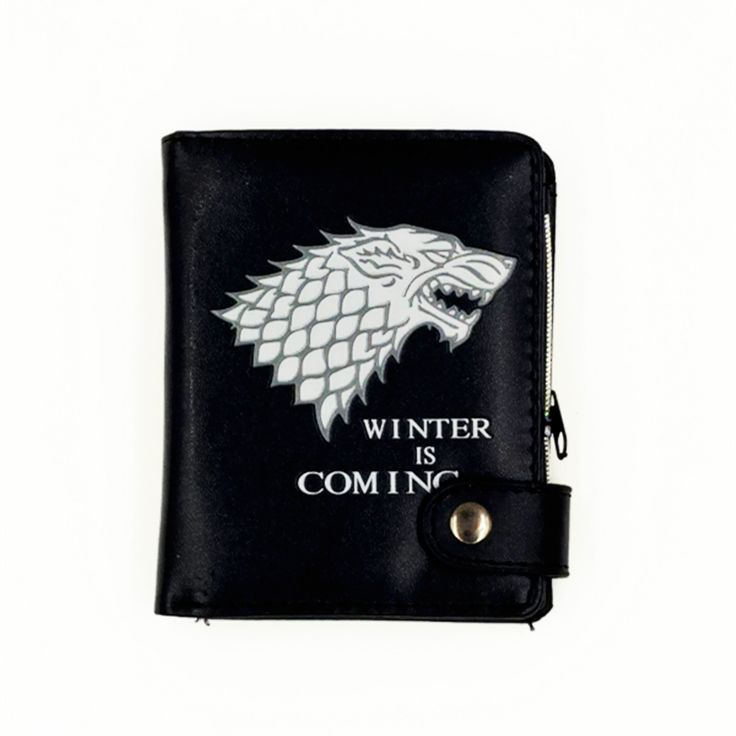 """Badge Wallets with Cion Zipper """"Game of Thrones"""" //Price: $9.95 & FREE Shipping //     #Game #stark #kings"""