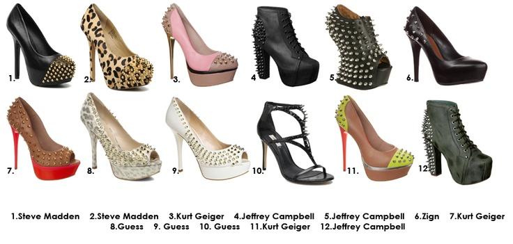 Najostrzejsze butki z ćwiekami w glamstorm! Które wybierasz? /Very prey Booties! Which you choose?    http://glamstorm.com/pl/przymierzalnia/ubrania#pattern_19