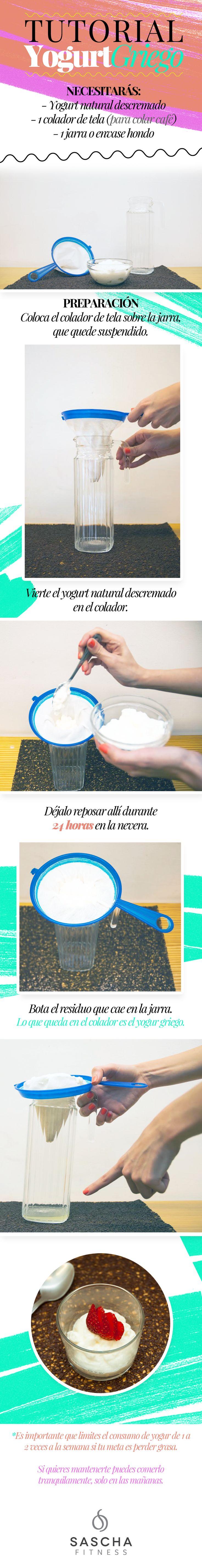 Tutorial de Yogurt Griego                                                                                                                                                      Más