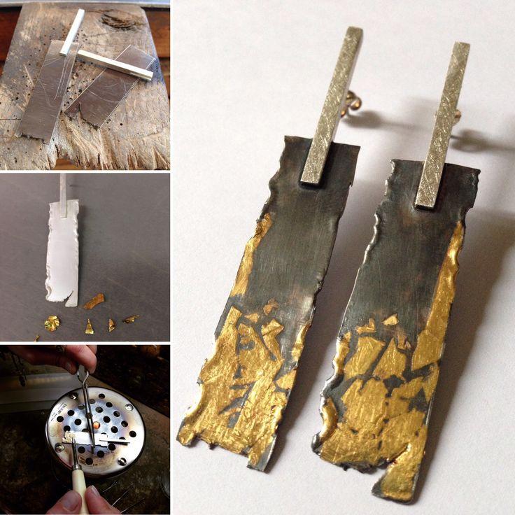 Técnica de kum boo sobre plata