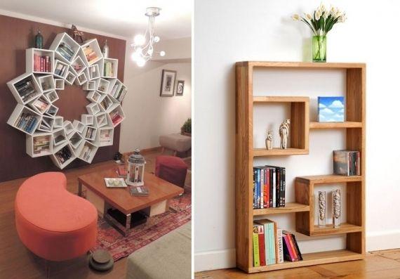 Hoje as estantes viraram peças de decoração predominantes da casa. Veja alguns modelos inspiradores!