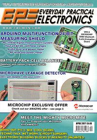 Click to learn more about this month's EPE Magazine - the No. 1 UK Hobby Electronics magazine