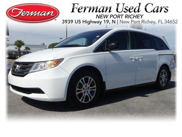 2012 Honda Odyssey EX L   White Http://www.fermannissanofnewportrichey.  2012 Honda OdysseyUsed VehiclesPort Richey