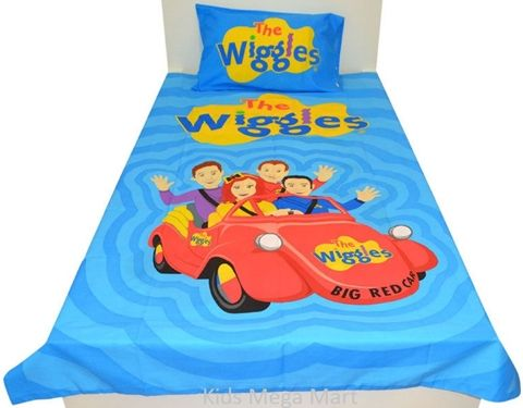 The Wiggles Big Red Car Single Doona Quilt Cover Set