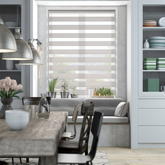 Enjoy Vision Soft Grey Roller Blind from Blinds 2go