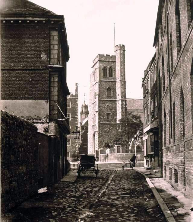 St Mary Church, Lambeth, near Lambeth Palace. Ann Boleyn's mother is buried in this church yard.