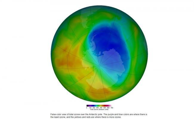 Agujero en capa de ozono es el más pequeño desde 1988 - https://www.enterateaguascalientes.com/agujero-en-capa-de-ozono-es-el-mas-pequeno-desde-1988/