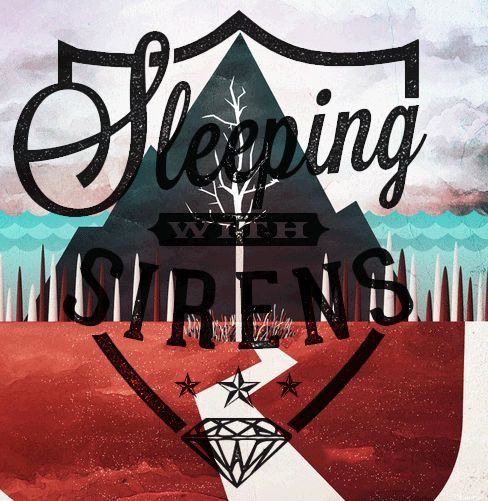 Sleeping with Sirens Right now I'm listening to bulls in the Bronx and the shaking went right along to the music. It was great