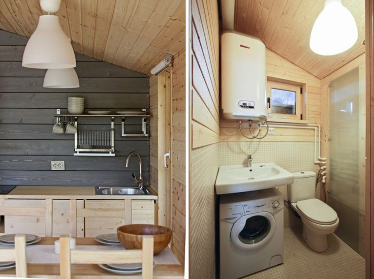 Interesting Idea To Put A Washer Under The Bathroom Sink Tiny House
