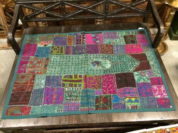 Vintage India Sari Tapestry Bohemian Hippie Wall by MOGULGALLERY