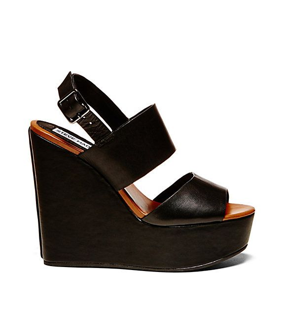 Bold and beautiful, this is the wedge you've been waiting for you. Steve  MaddenShoes ...