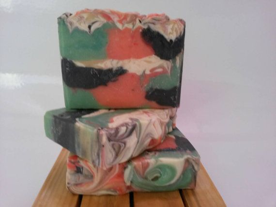 Fruity Rings bar by KedahNaturals on Etsy