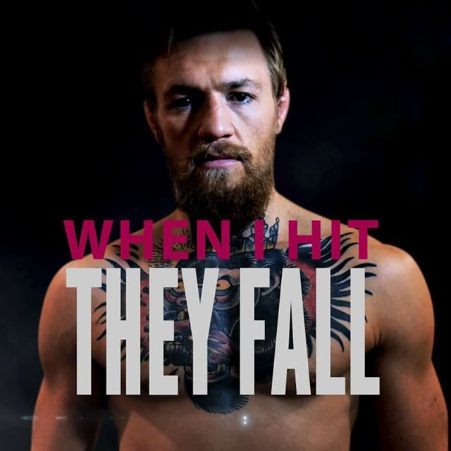 """""""When I Hit They Fall"""" by Conor McGregor : if you love #MMA, you'll love the #UFC & #MixedMartialArts inspired fashion at CageCult: http://cagecult.com/mma"""