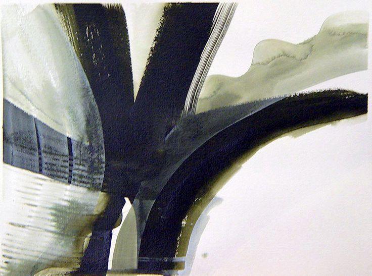 """Winter"" by Bianka Guna Art 2005 Series Acrylic On paper 22"" x 30"""