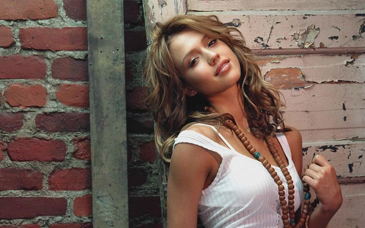 Download wallpapers Jessica Alba, movie stars, Hollywood, 4k, superstars, beauty, american actress