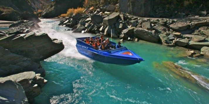 Jet boat - Skippers Canyon Jet & 4wd Queenstown. $129