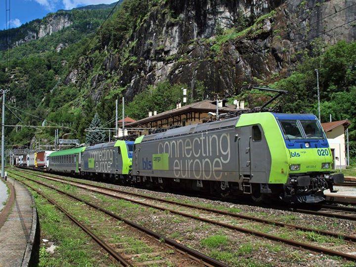 Iselles. Swish railways.