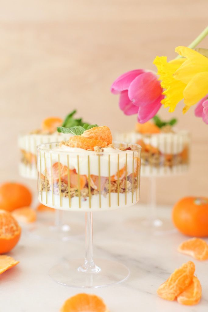 Not Your Grandma's Snack: Mandarin Granola Parfait | Recipe