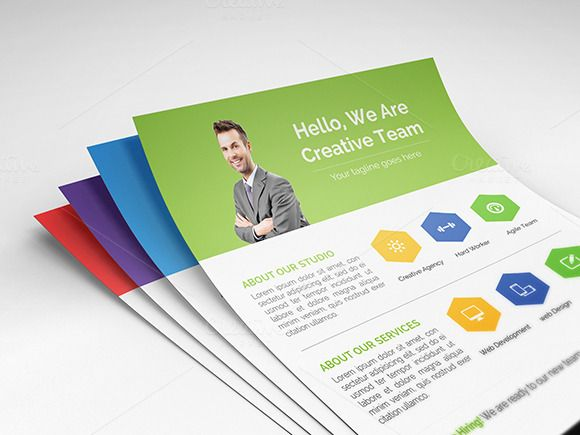 Check out Cleanhex - Clean Corporate Flyer by Suave Digital on Creative Market