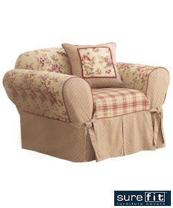 Sure Fit Lexington Washable Chair Slipcover $37.99 www.Overstock.com