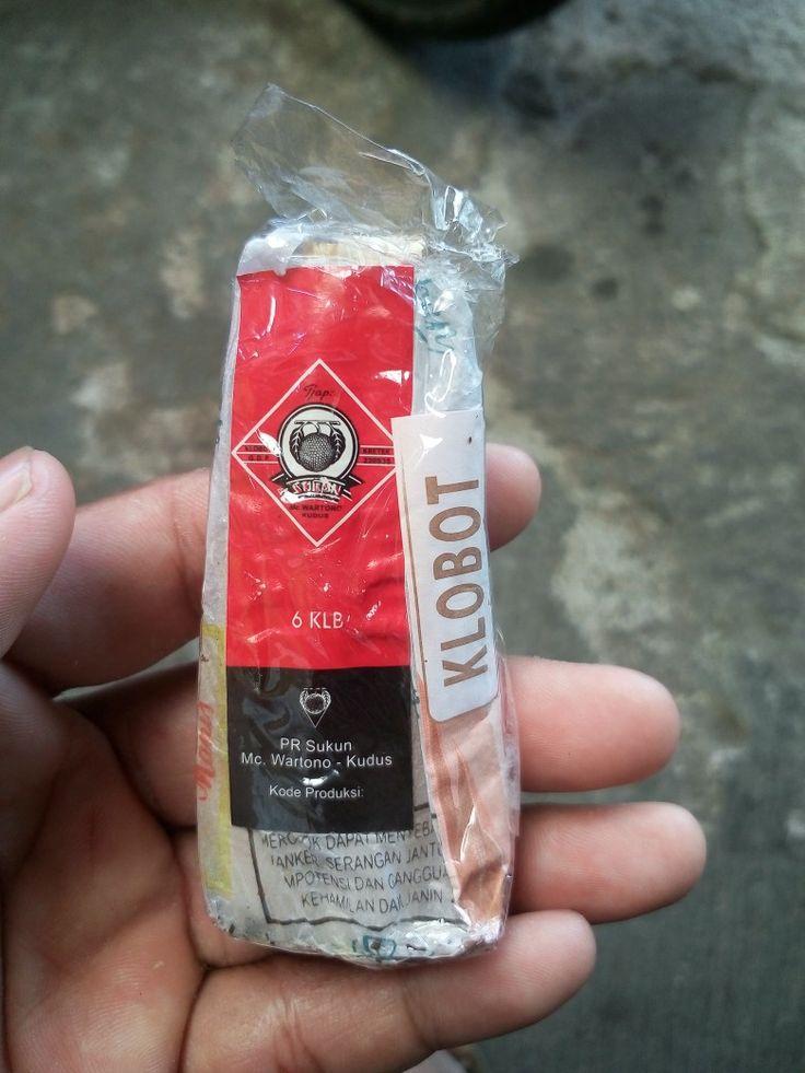 Rokok daun jagung cap Sukun