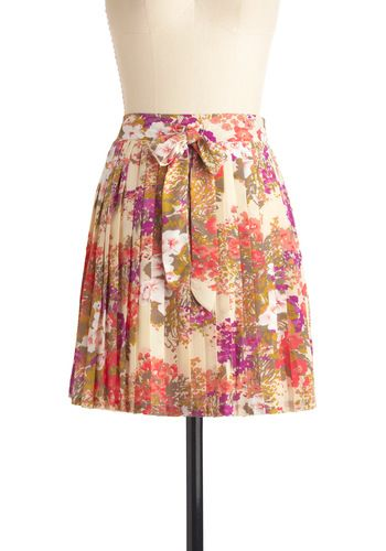 £60.75: Horticulture District, Vintage Skirts, Floral Prints, Floral Skirts, Summer Style, District Skirts, Dreams Wardrobes, Cute Skirts, Skirts Modcloth
