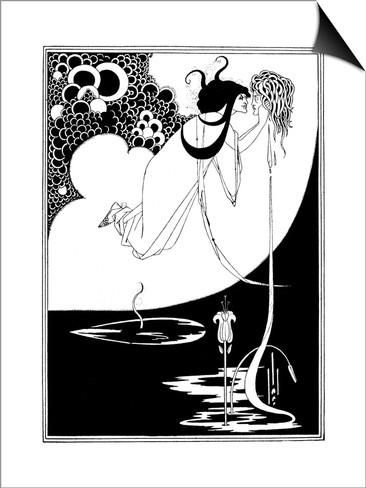 The Climax Print by Aubrey Beardsley at AllPosters.com