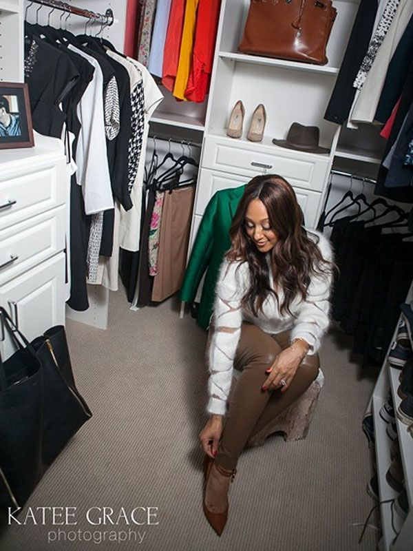 Check out Tamera Mowry's amazing new closet! You'll love her spacious walk-in from MasterSuite!