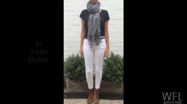 Tutorial: 4 maneras de ponerse un pañuelo – Well Fit Living