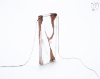 Resin and copper necklace, Clear resin, Copper resin jewelry, Resin necklace, Resin jewelry, Handmade Jewelry, Polyurethane resin, Copper