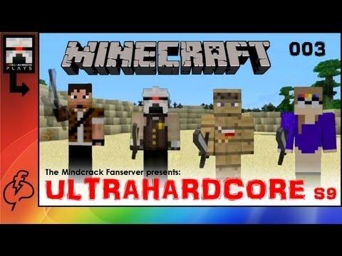 Ω Mindcrack Fanserver UHC 003 -S09- [UltraHardcore Minecraft] Let's play with OmegaRainbow
