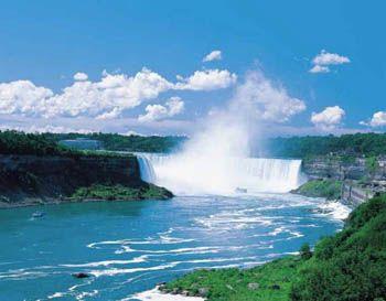 2014 Ontario Scenic Business Promo Calendar - August 2014 - Niagara Falls