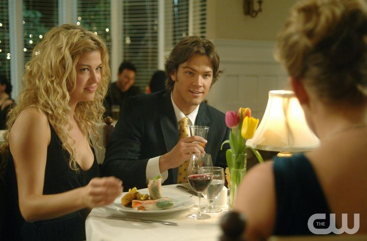 """What Is and What Should Never Be"" --(R-L) Jared Padalecki as Sam and  Adrianne Palicki as Jessica Moore in SUPERNATURAL on The CW. Photo: Sergei Bachlakov / The CW �2007 The CW Network, LLC. All Rights Reserved.pn"