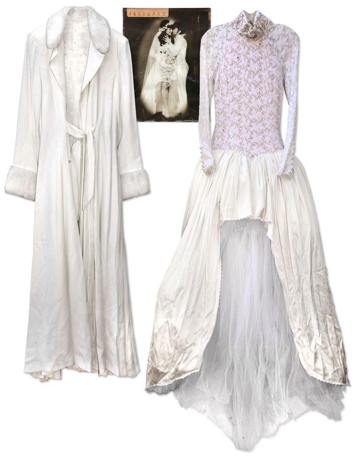 Mayte Garcia - wedding dress and coat