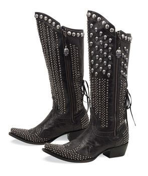 with black leggings: In Style, Killablack Boots, Black Cowgirl Boots, Studs Boots, Bootsold Gringomi, Riding Boots, Black Legs, Cowboys Boots, Flags Boots