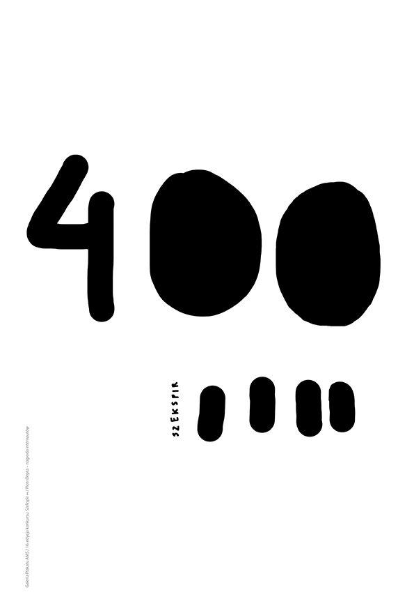 SZEKSPIR ∞ / SHAKESPEARE ∞ 16. edycja konkursu Galerii Plakatu AMS, temat: uniwersalność twórczości Szekspira 400 lat po jego śmierci (2015) / 16th edition of the AMS Poster Gallery competition, theme: the universalism of Shakespeare's works 400 years after his death (2015) / PIOTR DEPTA - NAGRODA INTERNAUTÓW