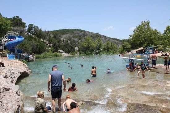blue hole pool, turner falls park, oklahoma - heard this place is great!