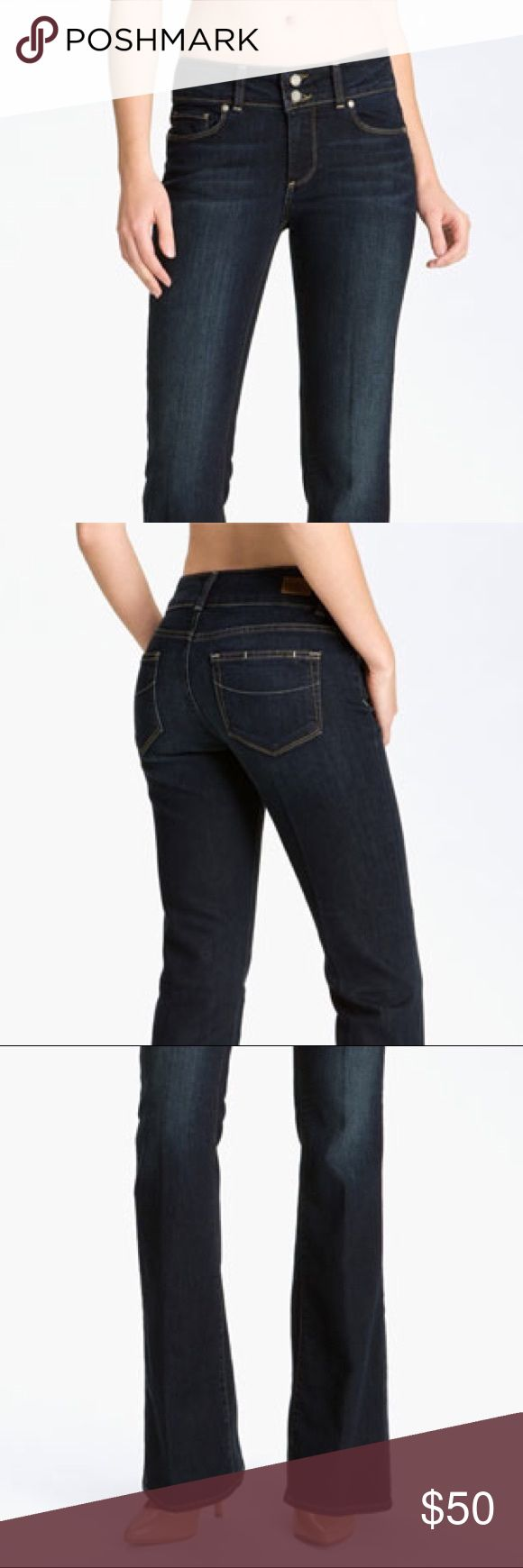 """Paige Premium Denim Hidden Hills Boot Cut NWOT New without tags Paige Hidden Hills jeans.  These have a little stretch for a very nice fit.  28"""" inseam, 9"""" rise Paige Jeans Jeans Boot Cut"""