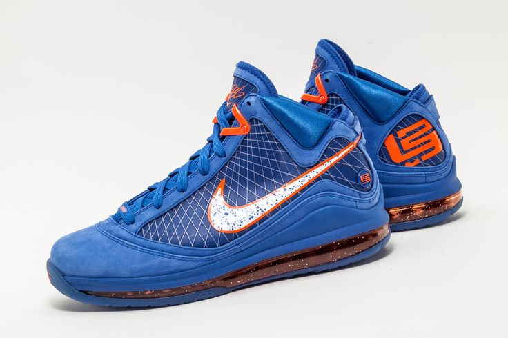 """This very rare Nike Air Max Lebron 7 PE """"Hardwood Classics"""" is inspired by the throwback Cleveland Cavs jersey."""