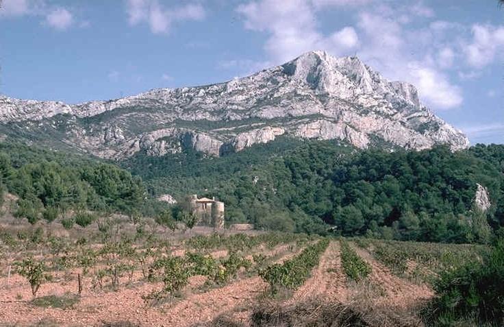 생트 빅투아르 산 사진