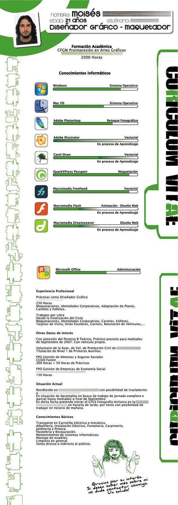 Creatief CV ontwerp