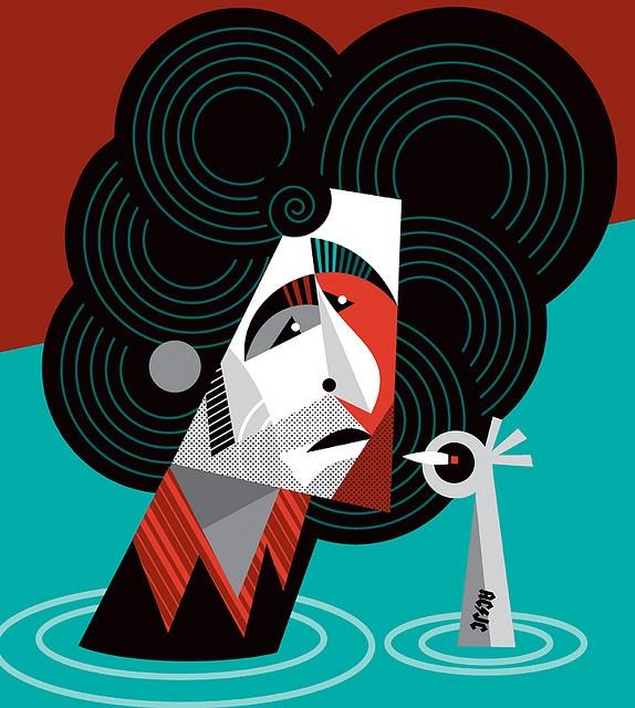 Andres Calamaro by Pablo Lobato