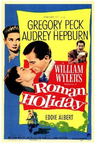 Roman Holiday Movie Poster (11 x 17 Inches - 28cm x 44cm) (1953) Style A -(Audrey Hepburn)(Gregory Peck)(Eddie Albert)(Tullio Carminati) Roman Holiday Poster Mini Promo (11 x 17 Inches - 28cm x 44cm) Style A. The Amazon image is how the poster will look; If you see imperfections they will also be in the poster. Mini Posters are ideal for customizing small spaces; Same exact image as a full size po... #MGPoster #Home