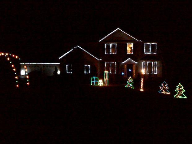 Christmas Window Lighting Frames