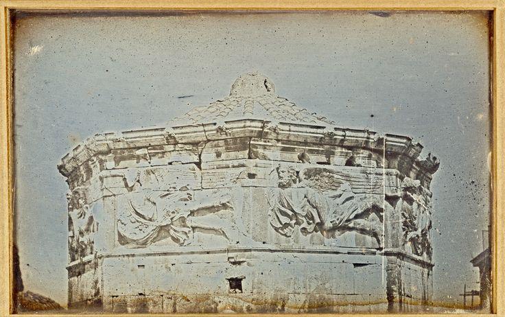 Joseph Prangey - Tower of the Winds, Athens, 1842