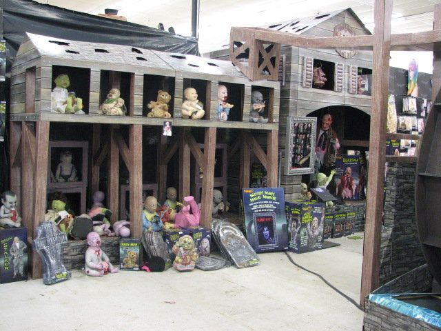 inside the spirit halloween store its much like a zombie baby farm hahaha - Spirit Halloweens