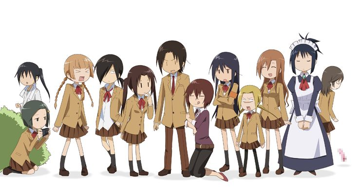 Seitokai Yakuindomo's unique cast.
