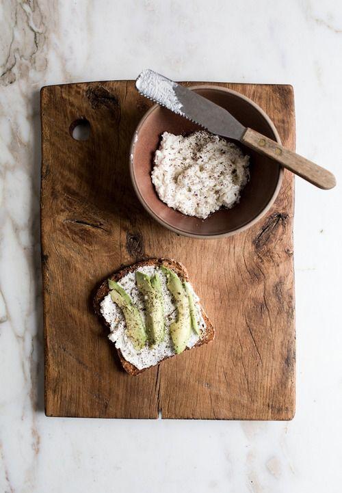 avocado | ricotta toast
