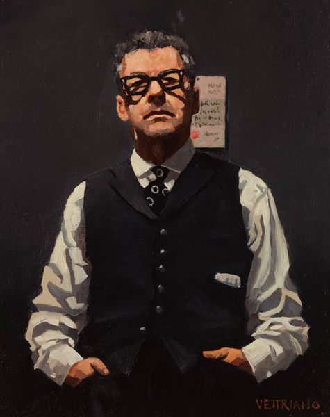 Jack Vettriano - Self-portrait with Love Letter (Study)